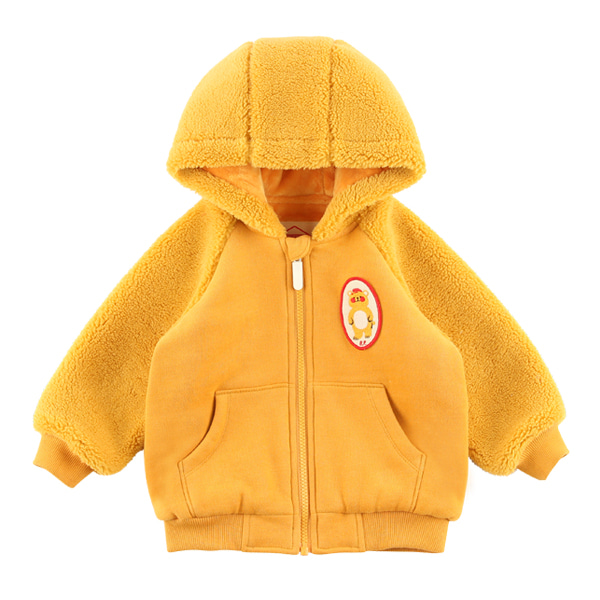 Bear baby fur hood zip up jacket  NEW WINTER