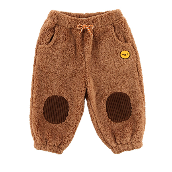 Smile bear baby boa fur pants  NEW WINTER