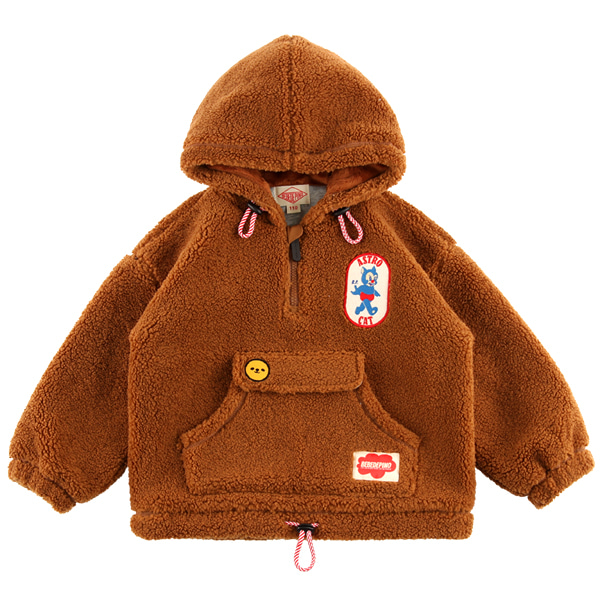 Bonjour dumble fur hooded anorak  NEW WINTER