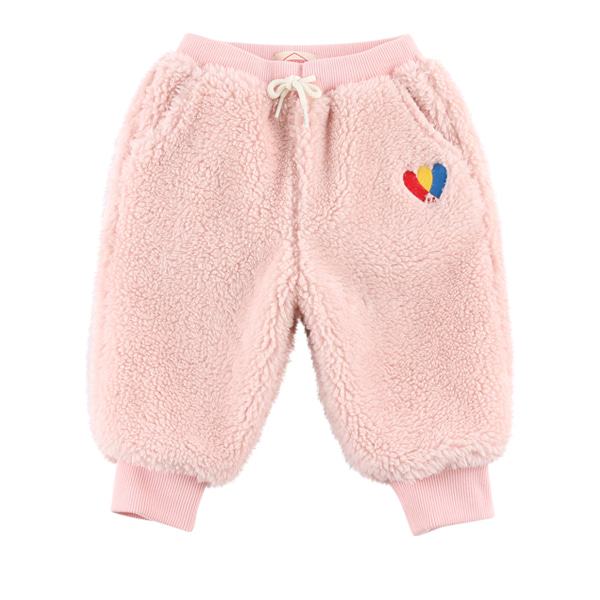 Heart baby dumble fur pants  NEW WINTER