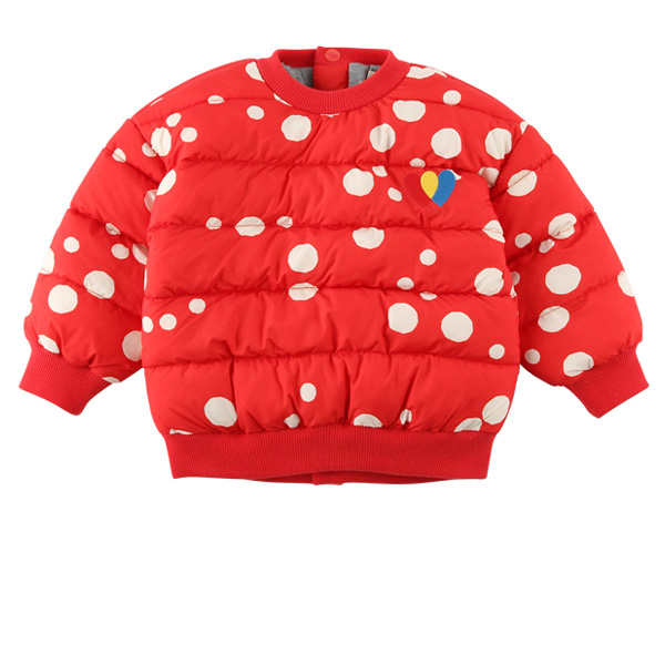 Multi sprinkle dots baby wellon sweatshirt  NEW WINTER