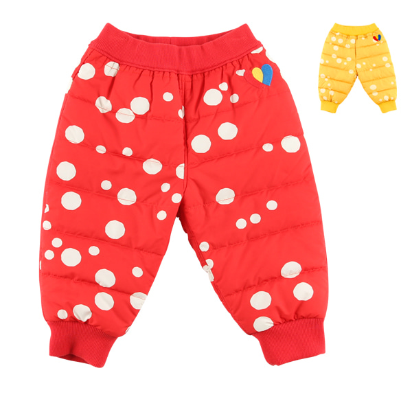 Multi sprinkle dots baby wellon pants