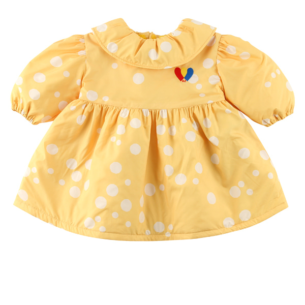 Multi sprinkle dots baby padding dress