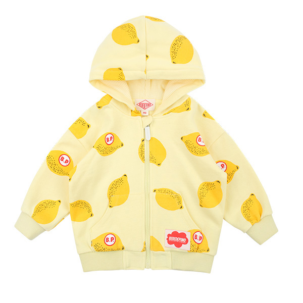 Multi lemon baby zip up jacket  NEW SPRING