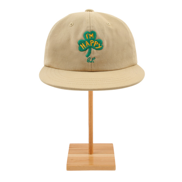 Clover 6 panel cotton cap  NEW SPRING