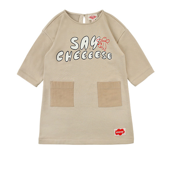 Say Cheese sweat dress  NEW SPRING