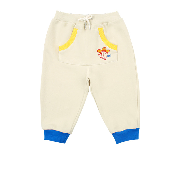 Ducky baby colorblock pocket sweatpants  NEW SPRING