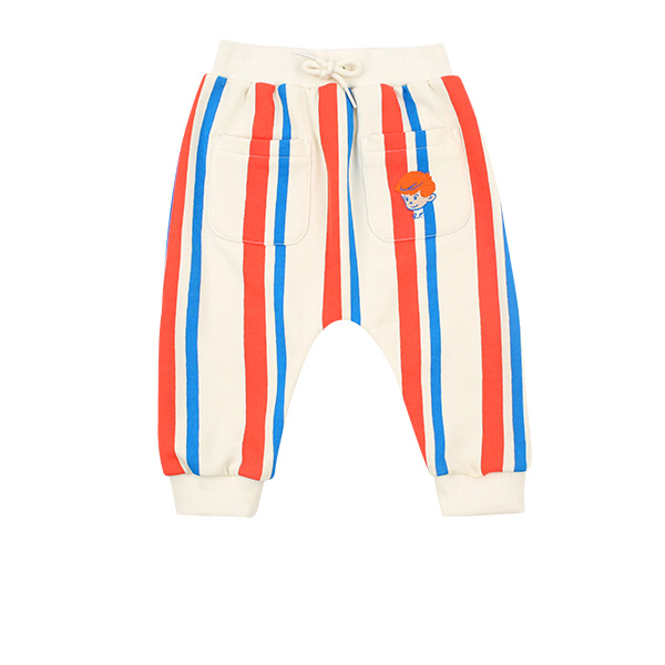 Milk man baby multi stripe baggy pants  NEW SPRING