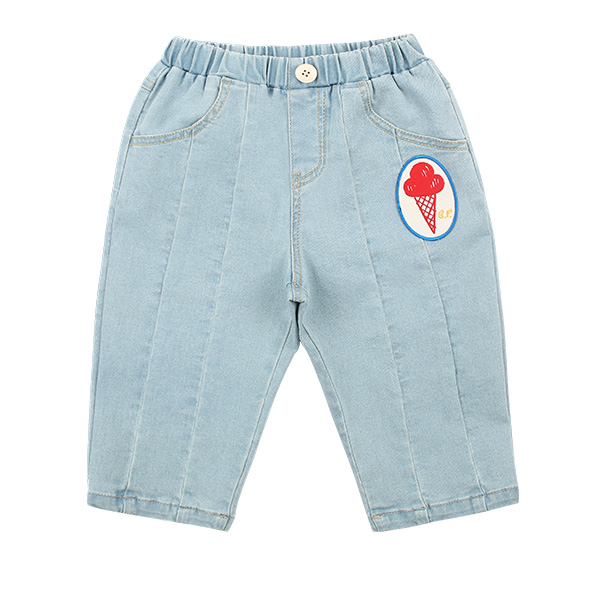 Ice cream baby denim baggy pants  NEW SPRING