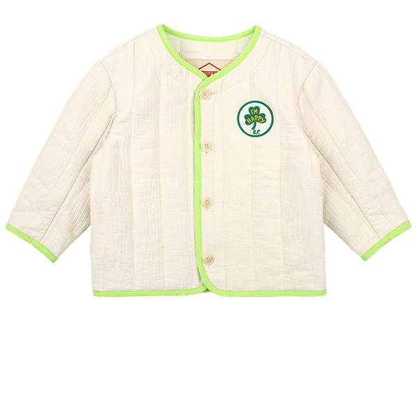 Clover quilted cotton jacket