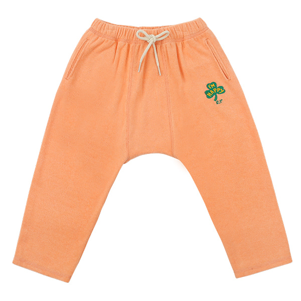 Clover terry baggy pants