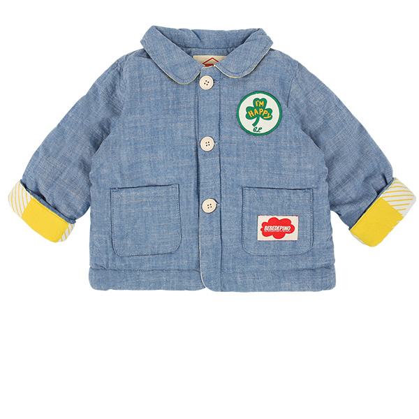 Clover baby roll up chambray jacket  NEW SPRING