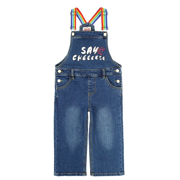 Say Cheese wide-fit denim overall  NEW SPRING