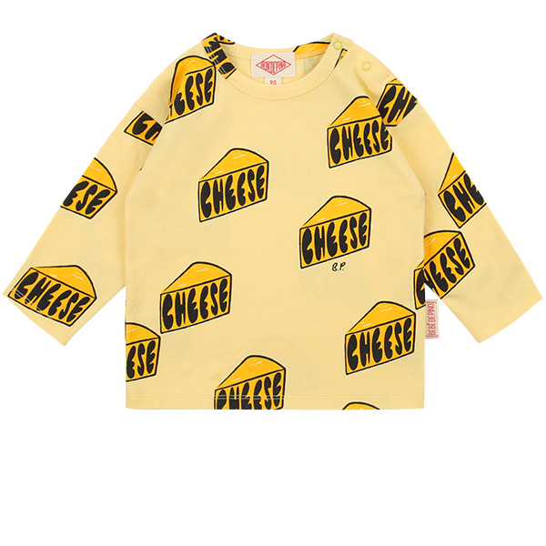 Multi cheese baby long sleeve tee  NEW SPRING