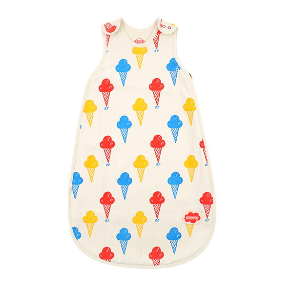 Multi ice cream newborn sleeping bag