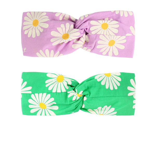 Multi daisy turban headband  NEW SPRING