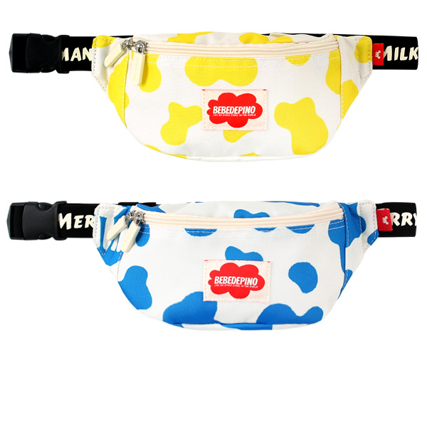Milk pattern waist bag  NEW SPRING