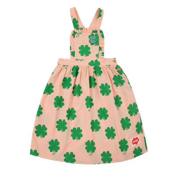 Multi clover suspender dress  NEW SUMMER
