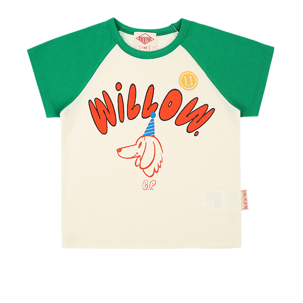 Willow raglan short sleeve tee  NEW SUMMER