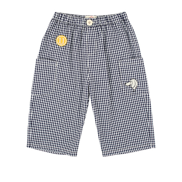 Willow gingham check out pocket pants  NEW SUMMER