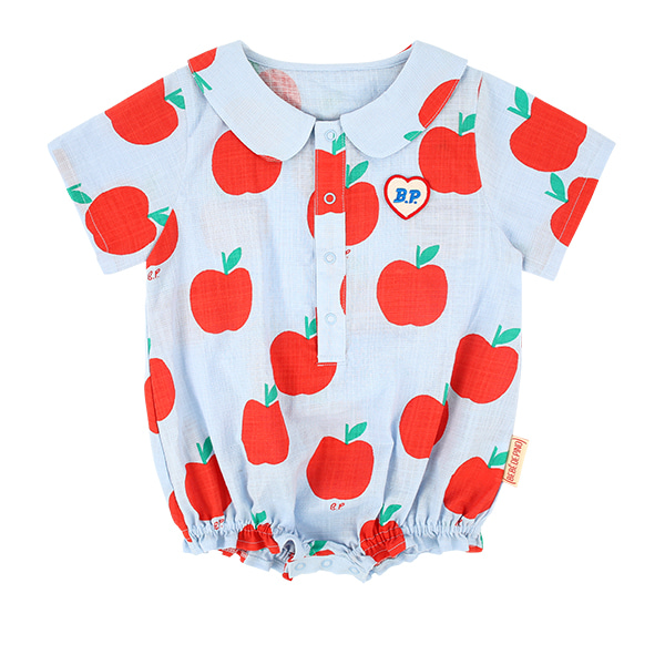 All over apple baby woven bodysuit  NEW SUMMER