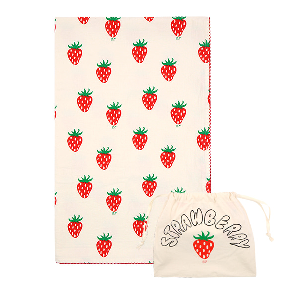 All over strawberry blanket  NEW SUMMER