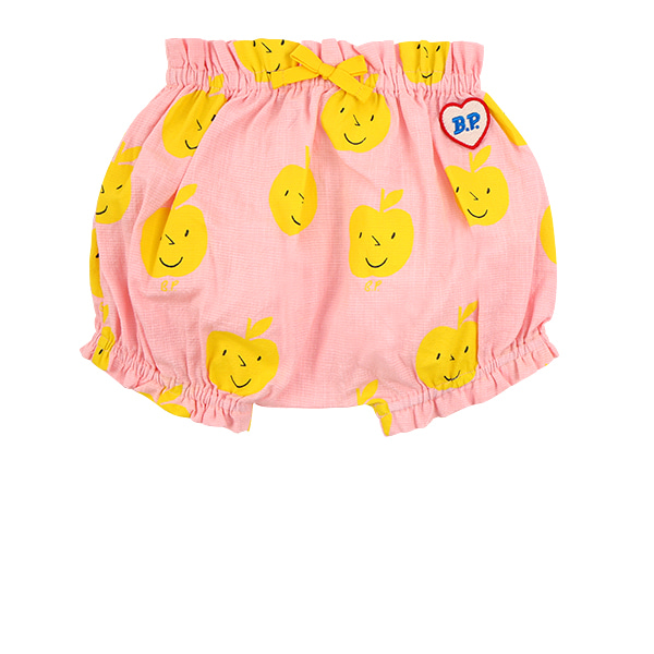 All over yellow apple baby woven shorts  NEW SUMMER