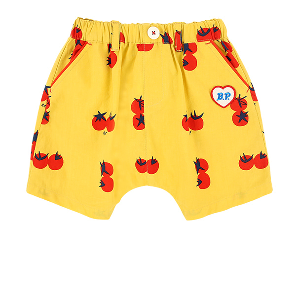 All over cherry tomato baby short pants  NEW SUMMER